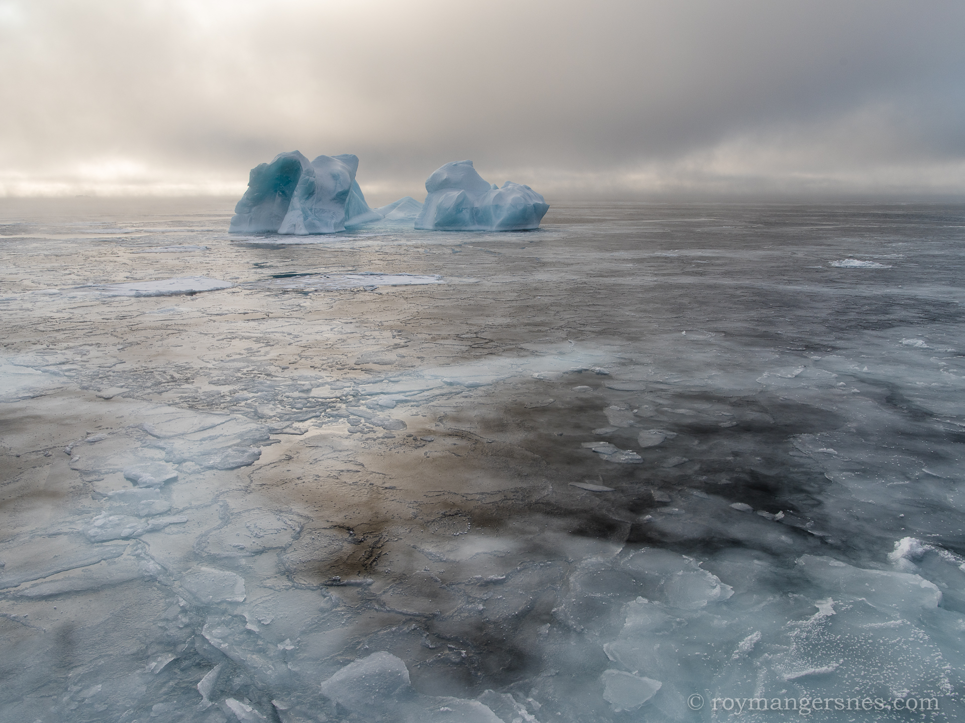 Svalbard iceberg_Winter2